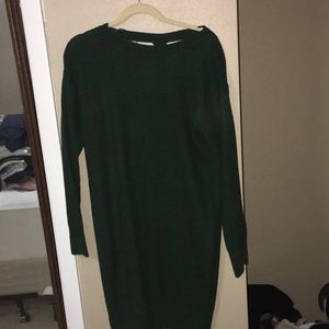 Sweaters - Green sweater dress